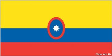 Colombia Civil Ensign